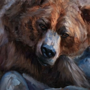 Grizzly Bear Wall Art
